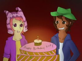 Happy Birthday Lindy~ by Lunaoverthecow