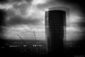 Baltimor Tower pinhole 1 by jrockar