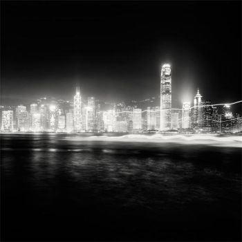 Hong Kong Night Skyline by xMEGALOPOLISx