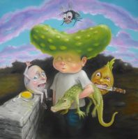 Adventures of Pickleboy in the Land of Nonsense by sgibb
