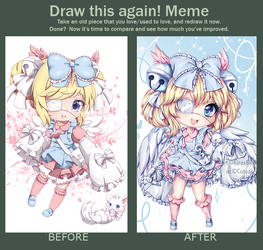 Meme: Draw This Again 01 by KirasElixir