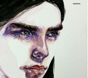 Face study by Kayehaan