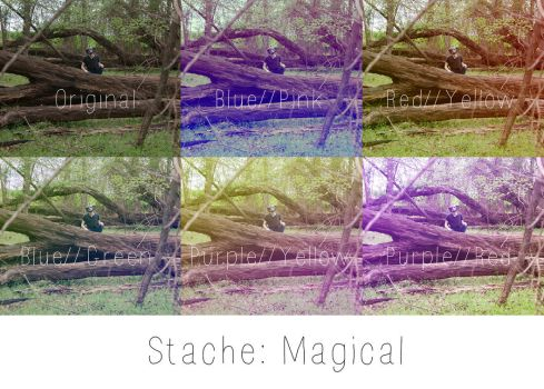 Magical by StacheActions