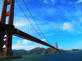Golden Gate Bridge by soffl