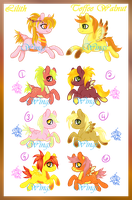 Lilith x Toffee Breeding Batch .:CLOSED:. by Cerulean-Wings
