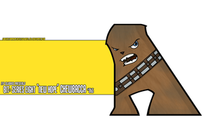 BIT+ Series 8 New Hope Chewbacca by IdeatoPaperStudios