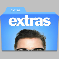 Extras tv show folder icon by speakingsoul