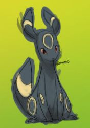 Umbreon by skeletall