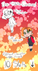 Cheap Chibi Sketch Commissions (Points Only) by BIueTay