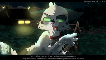 Into the Wild -You wouldnt get me in there by JB-Pawstep