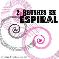 2 Brushes en espiral by shakeitnicholas