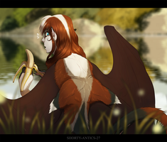 Quill's New Back by shorty-antics-27
