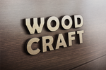 3D Wooden Logo MockUp by GraphicBurger