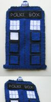 Doctor Who cell phone case by Darca23