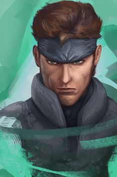 Solid Snake by Ranivius