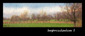 Impressionism or not by velenux