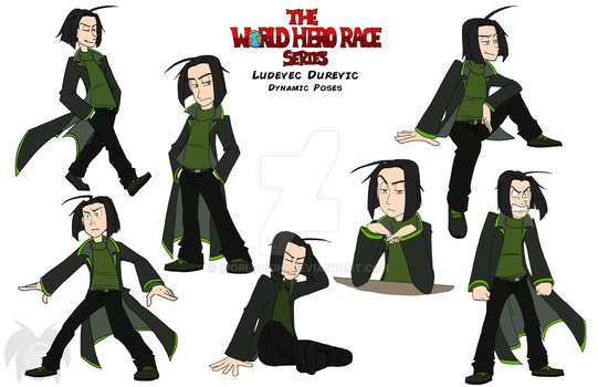 WHR Series: Ludey's Dynamic Poses by WorldHero