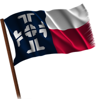 Waving Texas Federation (Fictional Flag) by kwhammes