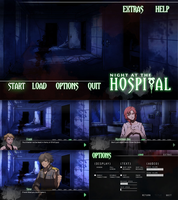 Game: Night at the Hospital by storybeam-vns