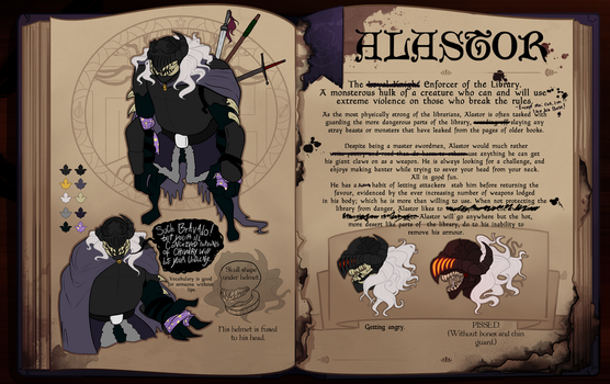 Second Draft OCT - Alastor by Ombre-de-clause