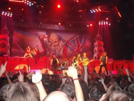 Iron Maiden TFF tour by ILoveBrucieD