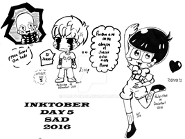 Inktober 2016 day 5 (SAD) by Pauly-chan