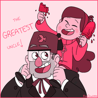 The greatest uncle by BlueOrca2000