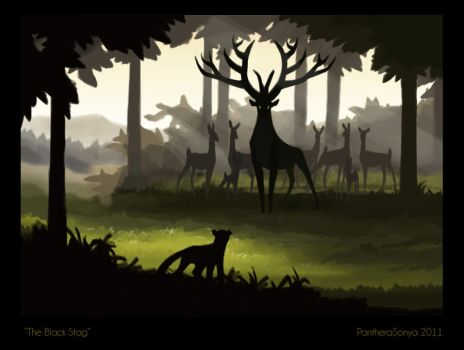 Concept: The Black Stag by Panimated