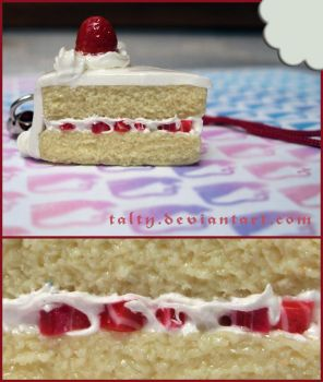 Clay Strawberry Shortcake by Talty
