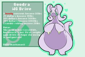 Goodra WG-Drive! part one by Chachanamii