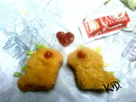 Dino Nuggets by kidbrainer