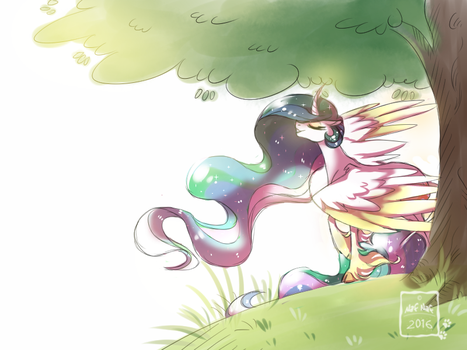 Sunny Days by Nafsi-chan