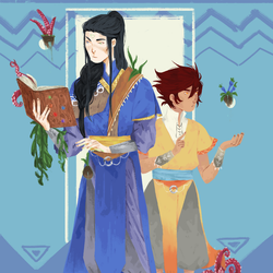 Samos And Kai by Be-ber