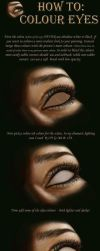 HOW TO COLOUR EYES tutorial by NightWish666
