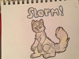 Rising Storm  by FoxAutumn