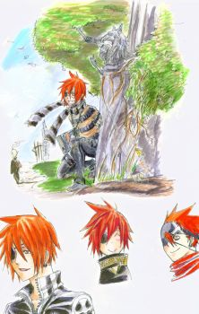 Lavi doodles by eoghankerrigan