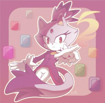 Blaze the  cat by nancher