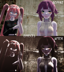 Effects play a big part in MMD by yabux