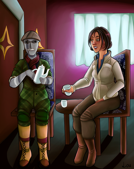 :AT: Tea time by HoshiNoDestiny