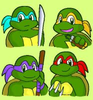 TMNT-old toon- by koju327