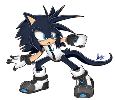 (COMM) Sonic SA Style_ .:Gresh The Hedgehog:. by MimiGuerrero