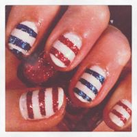 Nautical Stripes by justlottie