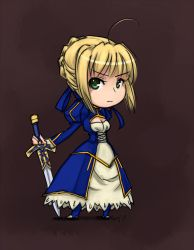 Saber by SailorSquall