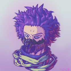 The Mind Controlling Hero - Shinso by El-Skully