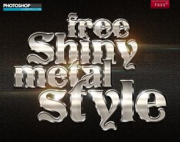 Free Shiny Metal Style by designercow