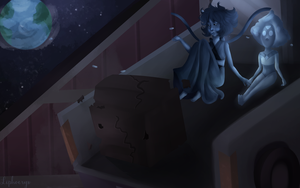 Lapis on the Moon by Liphoeryx