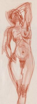 Life Drawing 1 by ChristineAltese