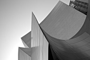 Disney Concert Hall by xraystyle