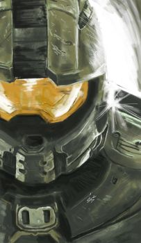 master chief - Copy 2 by silentlily