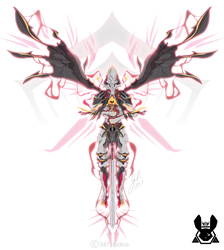 Vector Sketch 47 - Warframe Nekros Prime by 347STUDIOS